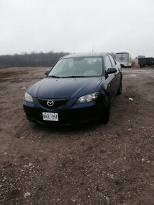2006 Mazda3 Sedan, BEST OFFER or TRADE