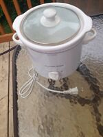 "Rice cooker ""proctor silex"" with different time settings"