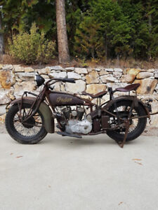Wanted Indian Motorcycle