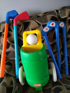 Set kit sac de golf pour enfant little tikes children