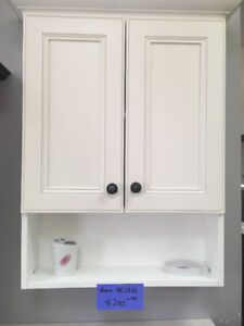 demo dove white and step grey medicine cabinet on sales!