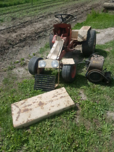 Mechanic Special - Case 155 Lawnmower