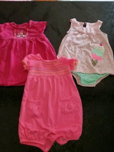 Baby girl clothes 18-24m lot like a new