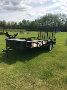 2013 side by side utility trailer