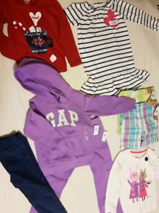 Girl clothing size 5t