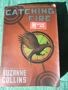 Catching Fire, Book 2 of the Hunger Games by Suzanne Collins