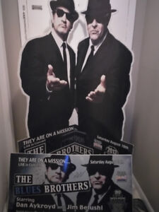 BLUES BROTHERS STAND UP/MAN CAVE ESSENTIAL.