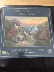 New/sealed Thomas kinkade 1000 piece puzzle