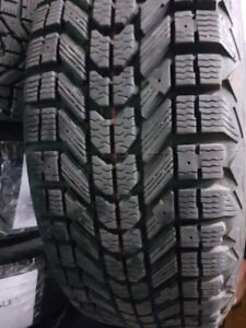 Firestone Winterforce Tires with Steel Rims