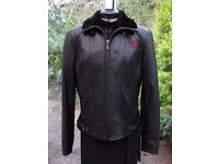 GENUINE LADIES HARLEY DAVIDSON LEATHER JACKET, LIMITED EDITION, AS NEW