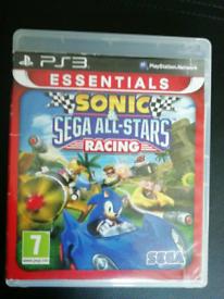 PS3 Sonic Sega All Stars