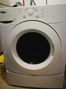 Whirlpool frontload stackable washer