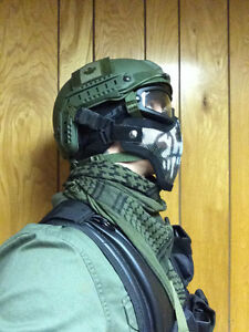 Airsoft head gear bundle for sale London Ontario image 2
