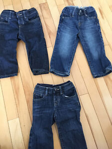 3 pairs of Baby Gap jeans