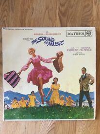 The Sound of Music soundtrack vinyl LP