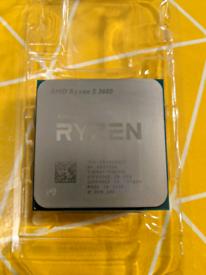 Ryzen 3600 used cpu with unused cooler
