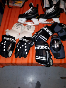 Gants d hockey & patins