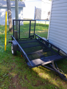 Trailer with ramp