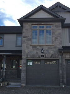 AVAILABLE IMMEDIATELY! Brand new freehold townhouse for Rent