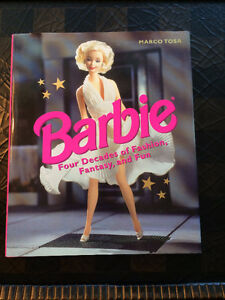 """Barbie"" Four Decades (1997) - Large Hardcover - Like New"