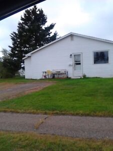 2 Bedroom Duplex large lot with shed and close to playground