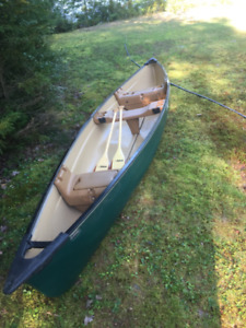 16 Foot Coleman Canoe Mint Barely Used