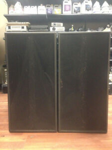ELECTROVOICE (EV) QRX118S PAIR OF SUBWOOFERS SPEAKERS - EACH WIT