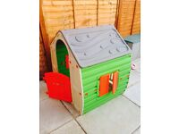 Kids Chad Valley House Play House Wendy House only had a month