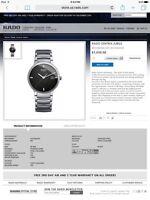 Rado Centrix Jubile men's watch
