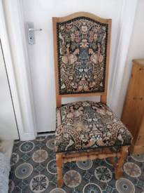 Tapestry chair now £15