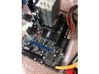 Msi GM41-P25-S03 Rev 6.0. Cpu ram motherboard combo
