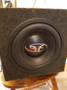 "10"" Subwoofer with sony 600watt amp"
