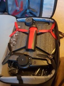RARE! Parrot Bebop2 PCKGE W/xl skycontroller and LMTD backpack.