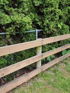 Farm or Property Pressure Treated Fencing