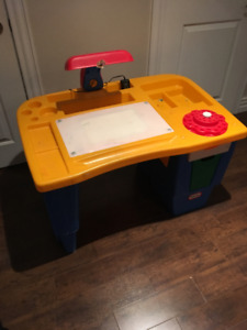 Little Tikes Tykes Art Desk Activity Table
