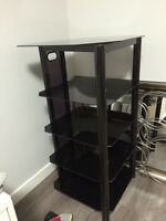 BRAND NEW tempered glass Entertainment Unit