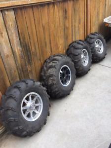 Polaris RZR Rims and Tires and Razor Parts