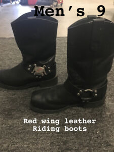Men's motorcycle riding boots