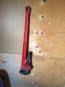 """36"""" rigid pipe wrench $40"""