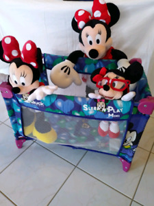 DISNEY SLEEP N PLAY MINI FOR DOLLS