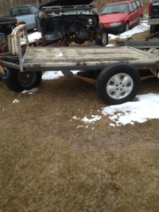 Utility/Snowmobile trailer