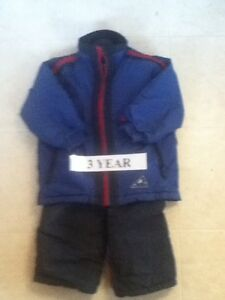 Kids Size 3 Coats and Snowsuits