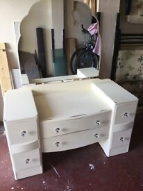 1930s shabby chic dressing table