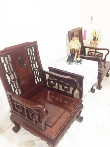 Authentic Rose Wood Sofa individual Pieces for sale