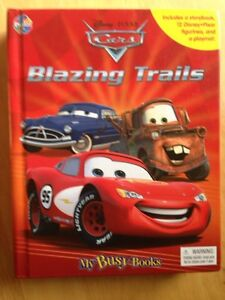 Cars book and toys - Blazing Trails