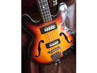 Antoria Vintage 60's/70's Electric Bass Guitar SoundMaster
