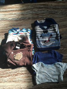 Lot of baby boy clothes 3 months