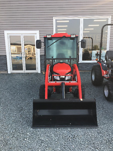 2017 TYM 254 TRACTOR WITH CAB AND LAODER