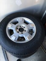 Hancock dynapro tires and 2012 F 150 rims