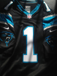 Nike Limited (Stitched) Cam Newton Jersey
